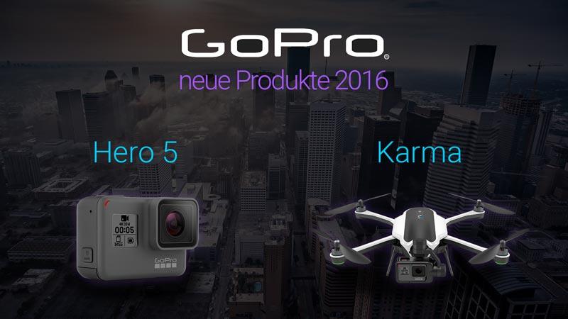 GoPro's neue Actioncam und Drohne: HERO5 und Karma