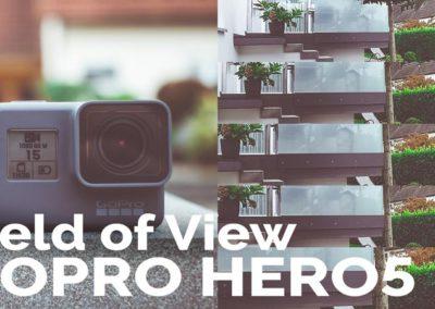 GoPro HERO5 Black: Sichtfeld vergleich – Field of View (FOV)