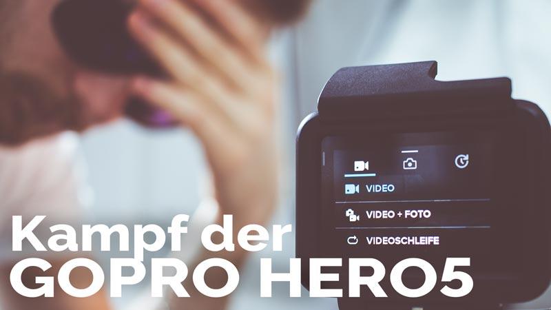 GoPro HERO5 - Menü und Einstellungen