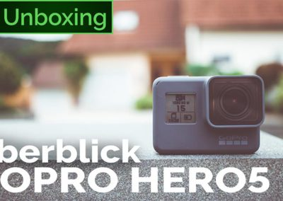 GoPro HERO5: Unboxing und kurzer Überblick