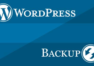 WordPress: Backup und Restore ohne Plugin